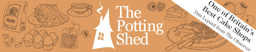 The Potting Shed Tearoom, Aviemore Retina Logo